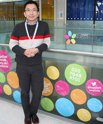 Dr Ming Lim from Evelina London Children's Hospital