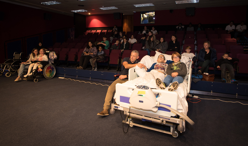 Visits to the silver screen for young patients