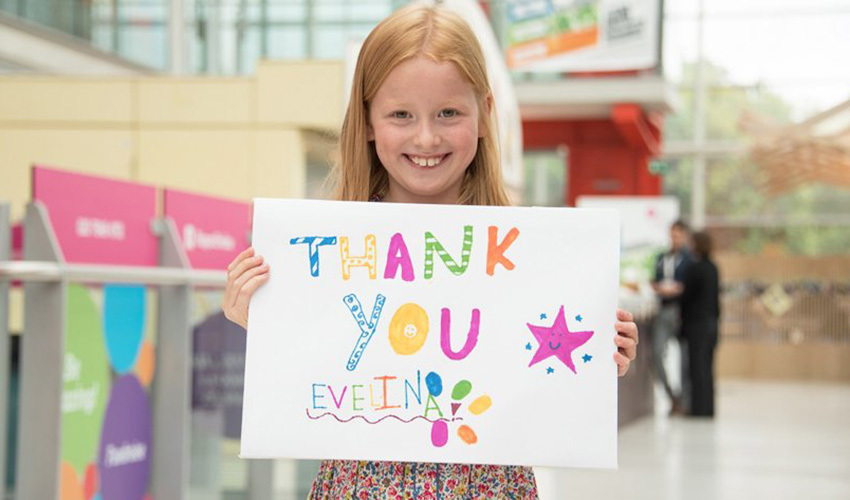 Become a fundraising Ambassador for Evelina London