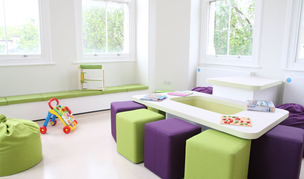 The new play room in Snow Leopard