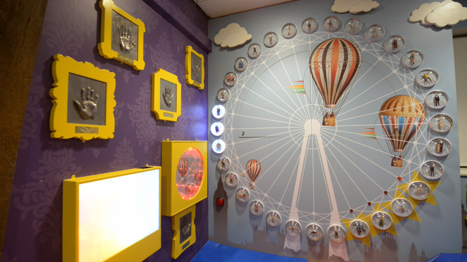 Sensory room image - hot air balloon